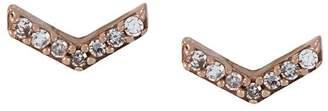 Astley Clarke 'Varro Honeycomb' diamond stud earrings