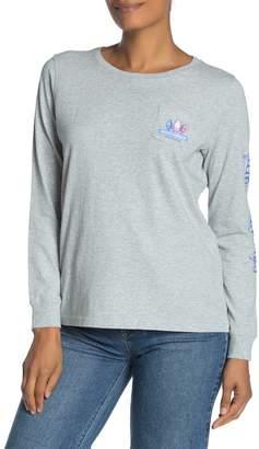 Vineyard Vines Buoy Crazy Long Sleeve Pocket T-Shirt