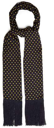 Joseph Polka-dot print silk scarf