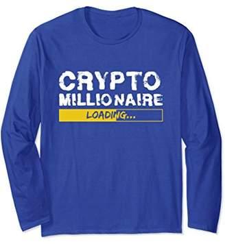 Crypto Millionaire Loading Funny Bitcoin Ethereum T-Shirt