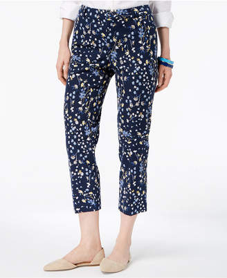 Charter Club Tummy-Control Cropped Pants