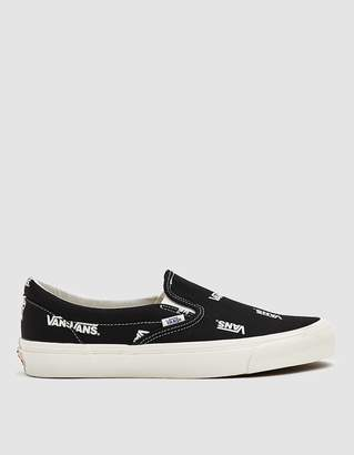 17af9ad98f46 Vans Vault By Classic Slip-On LX Sneaker in Black/Marshmallow