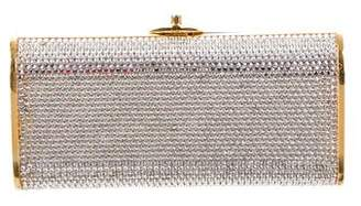 15cca680cce91 Pre-Owned at TheRealReal · Judith Leiber Crystal-Embellished Frame Clutch