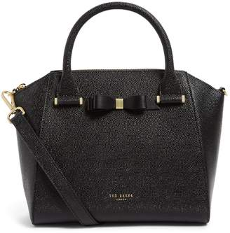 Ted Baker Medium Leather Bow Janne Tote Bag