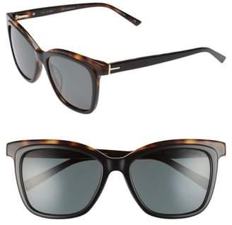 Ted Baker 54mm Polarized Cat Eye Sunglasses