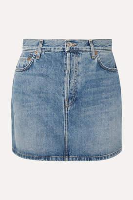 RE/DONE Originals 60s Denim Mini Skirt - Mid denim