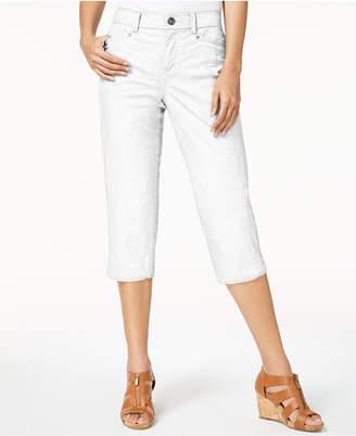 Style&Co. Style & Co Split-Hem Capri Pants