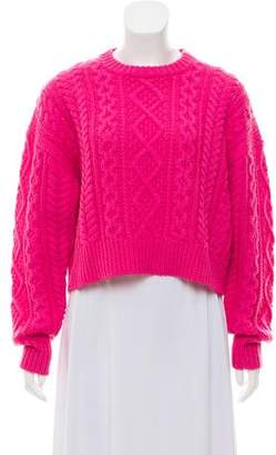 Etoile Isabel Marant Wool Cable Knit Sweater