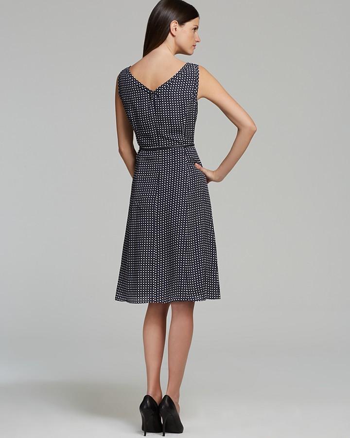 Jones New York Collection Sleeveless Belted Dress