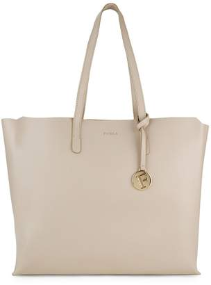 Furla Open Saffiano Leather Tote