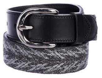 Etoile Isabel Marant Leather-Trimmed Woven Belt
