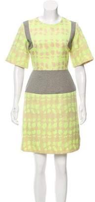 Richard Nicoll Contrast Mini Dress w/ Tags