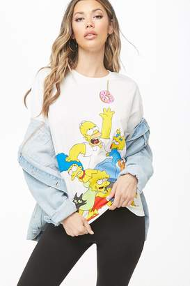 Forever 21 The Simpsons Graphic Tee