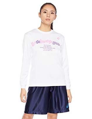Converse (コンバース) - [コンバース] バスケットボールウェア 機能プリントロングスリーブTシャツ CB382306L [レディース] ホワイト 日本 M (日本サイズM相当)