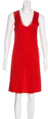 Lanvin Sleeveless Quilted Dress