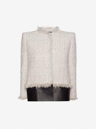 Alexander McQueen Soft Tweed Box Jacket