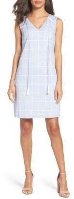 Women's Julia Jordan Cotton A-Line Dress $138 thestylecure.com