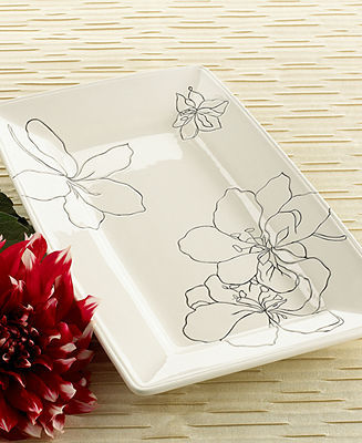 Laurie Gates Dinnerware, Anna Rectangular Platter