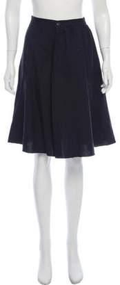 Societe Anonyme Patterned Knee-Length Skirt w/ Tags