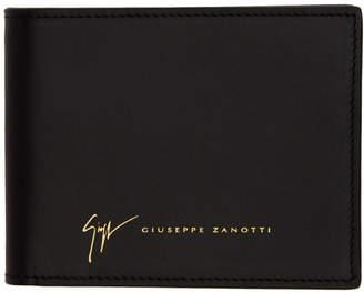 Giuseppe Zanotti Black Tobirel Bifold Wallet