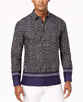 INC International Concepts I.n.c. Men's Multi-Print Shirt, Created for Macy's