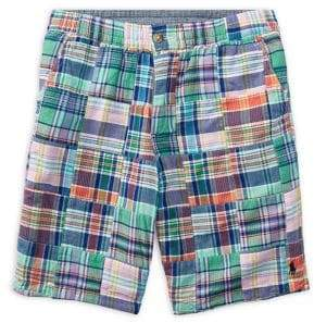 Boy's Straight-Fit Reversible Shorts
