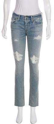 RE/DONE Light Wash Boyfriend Jeans