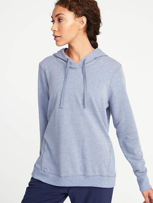 French-Terry Swing Hoodie for Women