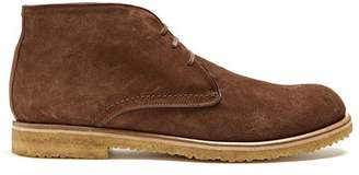 Harry's of London Joshua Suede Boots - Mens - Brown