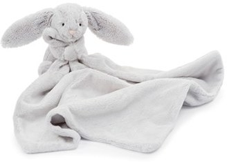 Infant Jellycat 'Grey Bunny Soother' Blanket $20 thestylecure.com