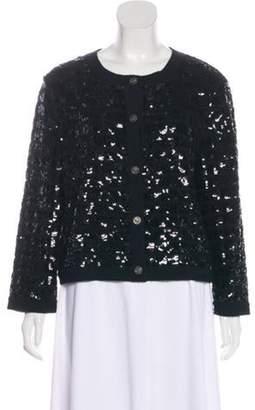 Chanel Cashmere Embellished Cardigan Black Cashmere Embellished Cardigan