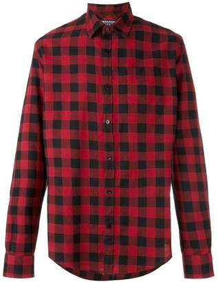 Woolrich checked casual shirt