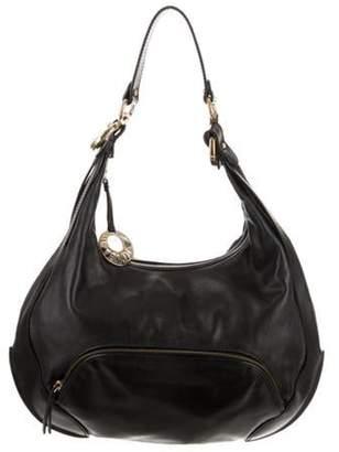 Fendi Leather Chef Hobo Bag Black Leather Chef Hobo Bag