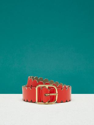 Single Notch Scalloped Belt $198 thestylecure.com
