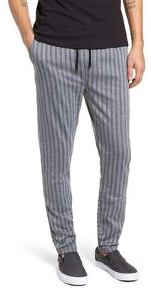 NATIVE YOUTH Pinstripe Slim Fit Pants