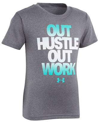 Under Armour Boy's Out Hustle Out Work Tee
