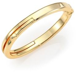 Giles & Brother Brass Latch Cuff $245 thestylecure.com