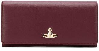 Vivienne Westwood logo continental wallet