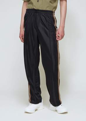 Our Legacy Stiff Poly Banded Track Pants
