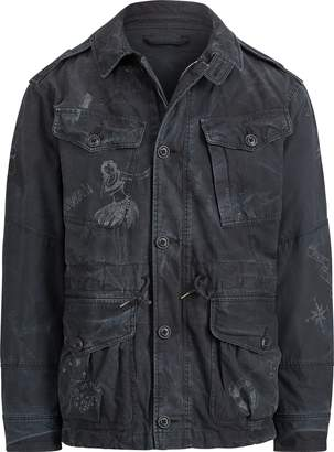 Ralph Lauren Print Cotton Utility Jacket