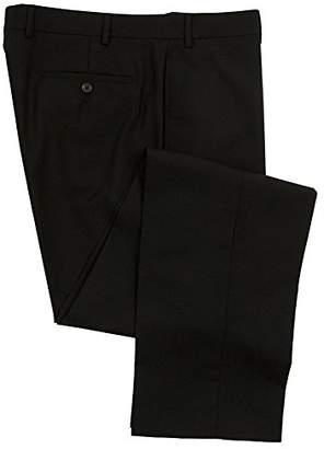 Ralph Lauren Men's Flat Front Solid Wool Dress Pants - Size 34 x32