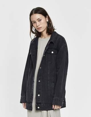 Stelen Sania Oversize Denim Jacket With Tie