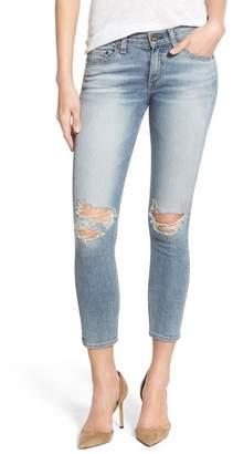 Rag & Bone Destroyed Capri Skinny Jeans (Murray)