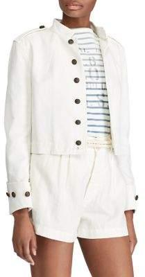 Polo Ralph Lauren Slim Fit Cotton Officer's Jacket