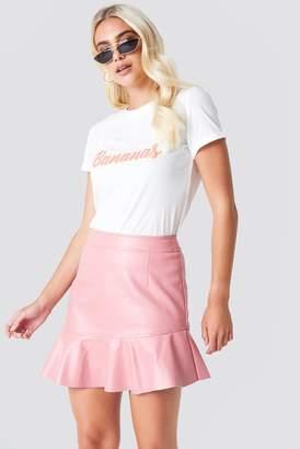 Rut & Circle Rut&Circle Frill Pu Skirt