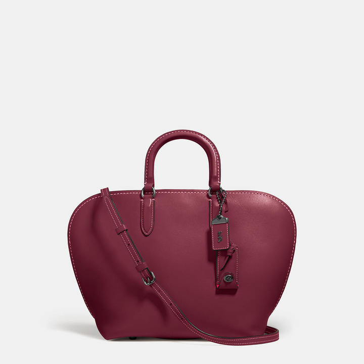 Coach   COACH Coach Dakotah Satchel In Glovetanned Leather