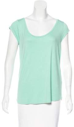 Calypso Short Sleeve Scoop Neck Top