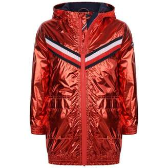Tommy Hilfiger Tommy HilfigerGirls Red Metallic Hooded Jacket