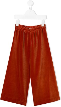 Il Gufo knitted wide leg trousers