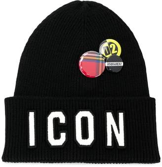 DSQUARED2 Icon hat with badges